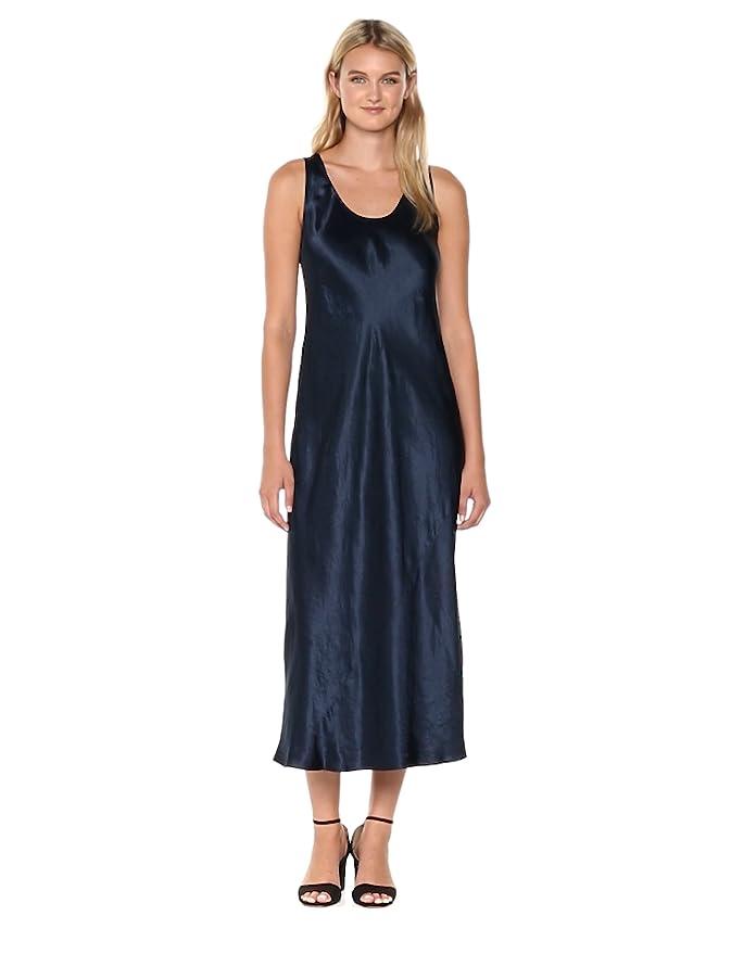 2540f4a6938b Amazon.com: Vince Women's Bias Cut Dress: Clothing