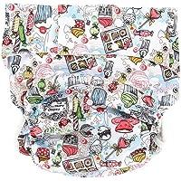 Pañales de Tela Reutilizables Lavable Cloth Diaper Nappy