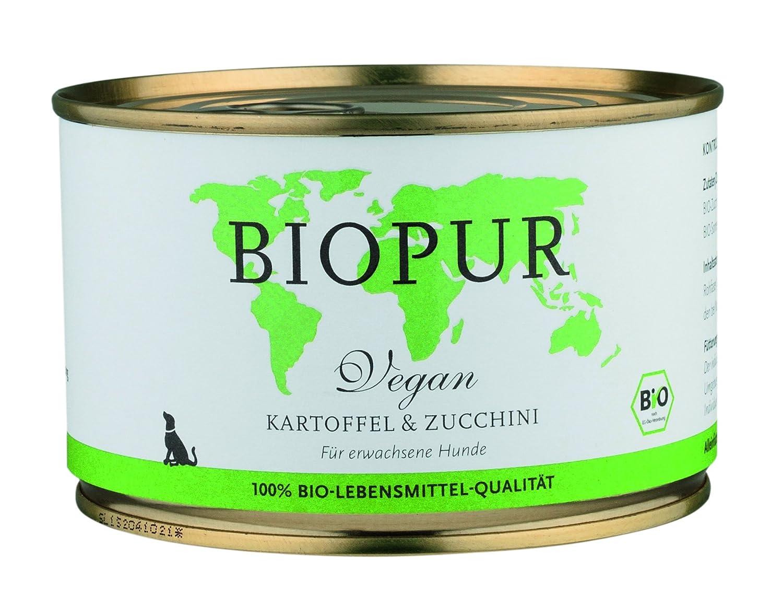 BIOPUR [Pack of 12 x 400g Dog Food Vegetarian