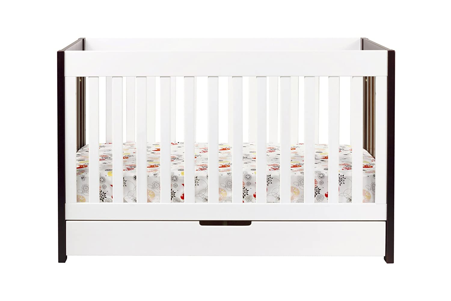 babyletto mercer in convertible crib with toddler rail two  - babyletto mercer in convertible crib with toddler rail two toneamazonca baby