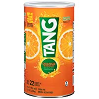 Tang Orange Powdered Drink Mix (Makes 22 Quarts), 72-Ounce Canister (Pack of 2) by Tang [Foods]