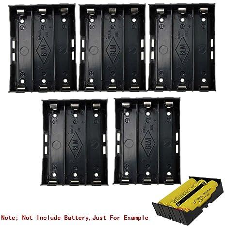 Amazon.com: 18650 caja de la batería Soporte, 5 Pack 3 ...