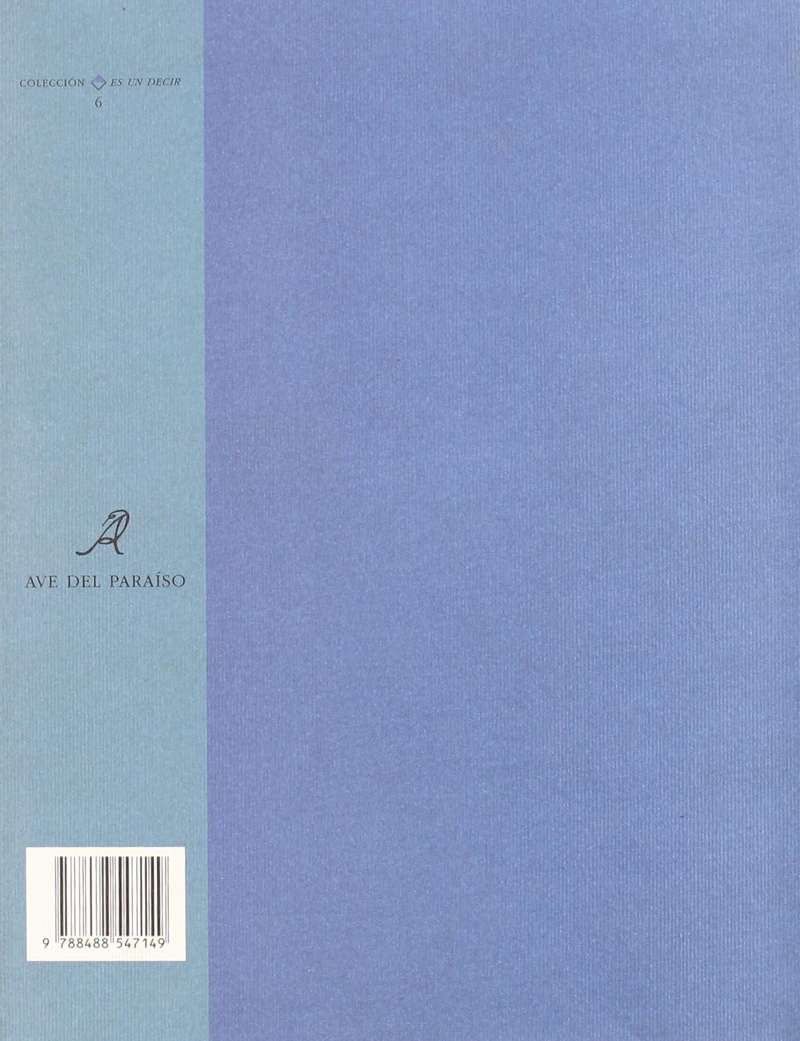 Reloj de sol (Coleccion Es un decir) (Spanish Edition): Gabriel Zaid: 9788488547149: Amazon.com: Books