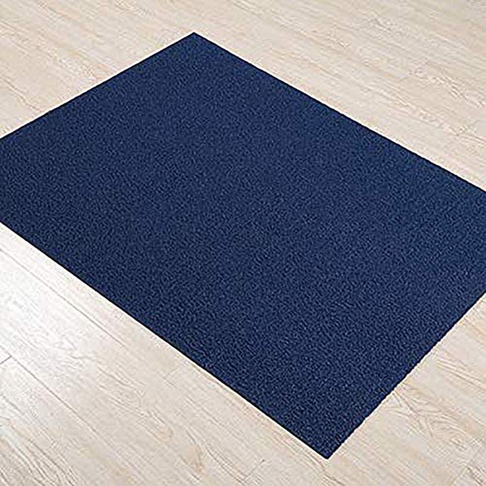bluee 60x80cm(24x31inch) Doormat,Entrance Doormat Front Door Mat Anti-skidding Easy to Clean Home Decor-Brown 40x60cm(15.7x23.6inch)