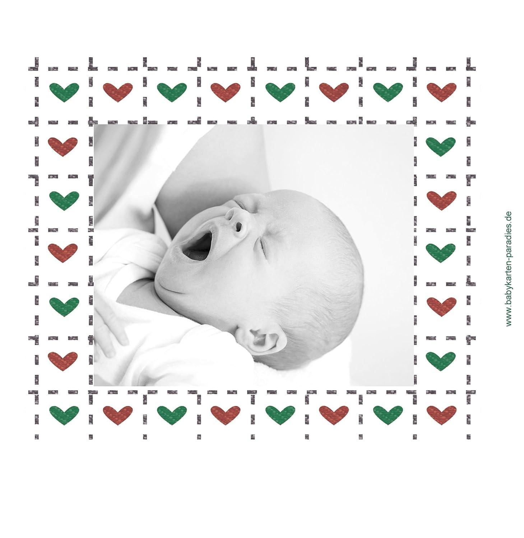 Kartenparadies Danksagung für Geburt Baby Dankeskarte Herzrahmen, Herzrahmen, Herzrahmen, hochwertige Danksagungskarte Baby inklusive Umschläge   10 Karten - (Format  145x145 mm) Farbe  Lila B01N7Y1GUS | Verschiedene Arten und Stile  | Niedrige Kosten  | Kaufen  18f71b