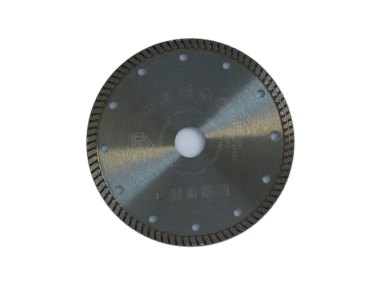 Jjw-germany Turbo Diamant Disque de tron/çonneuse 150 x 22,23 mm Al/ésage pour meuleuse dangle Qualit/é industrielle DIN EN 13236