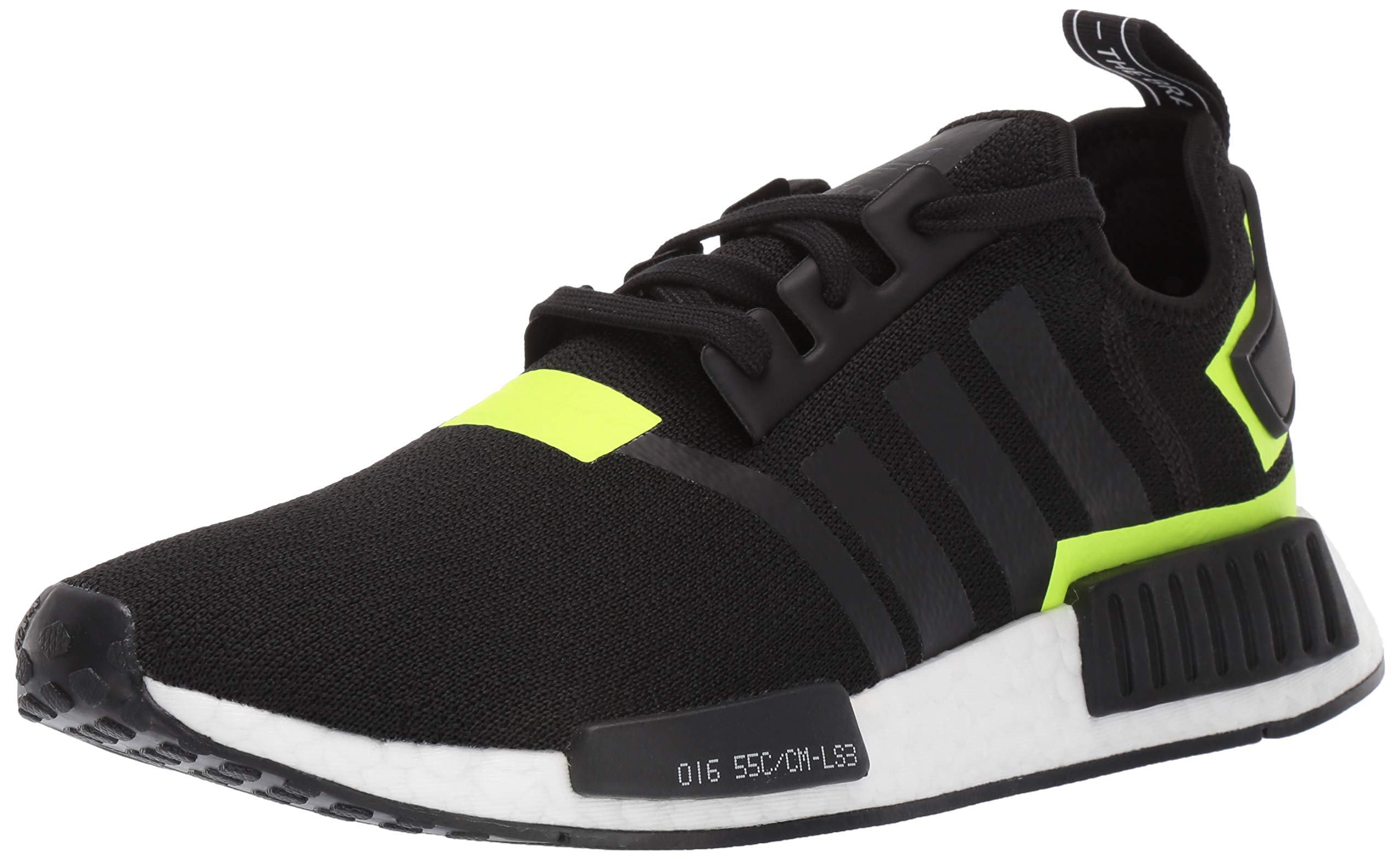 adidas Originals Men's NMD_R1 Running Shoe, Black/White 1, 4 M US by adidas Originals (Image #1)