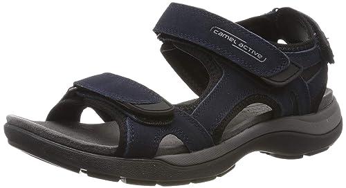 low priced classic shoes best value camel active Herren Explorer 11 Riemchensandalen