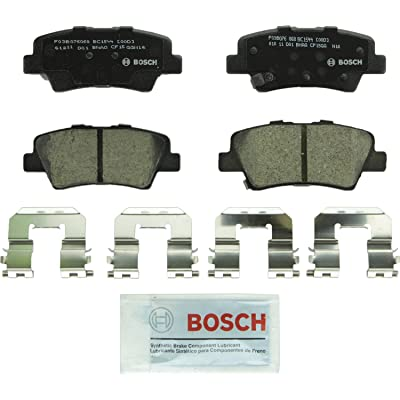 Bosch BC1544 QuietCast Premium Ceramic Disc Brake Pad Set For Hyundai: 2012-2020 Accent, 2011-2016 Elantra, 2013-2014 Elantra Coupe; Kia: 2014-2020 Optima, 2012-2020 Rio; Rear: Automotive