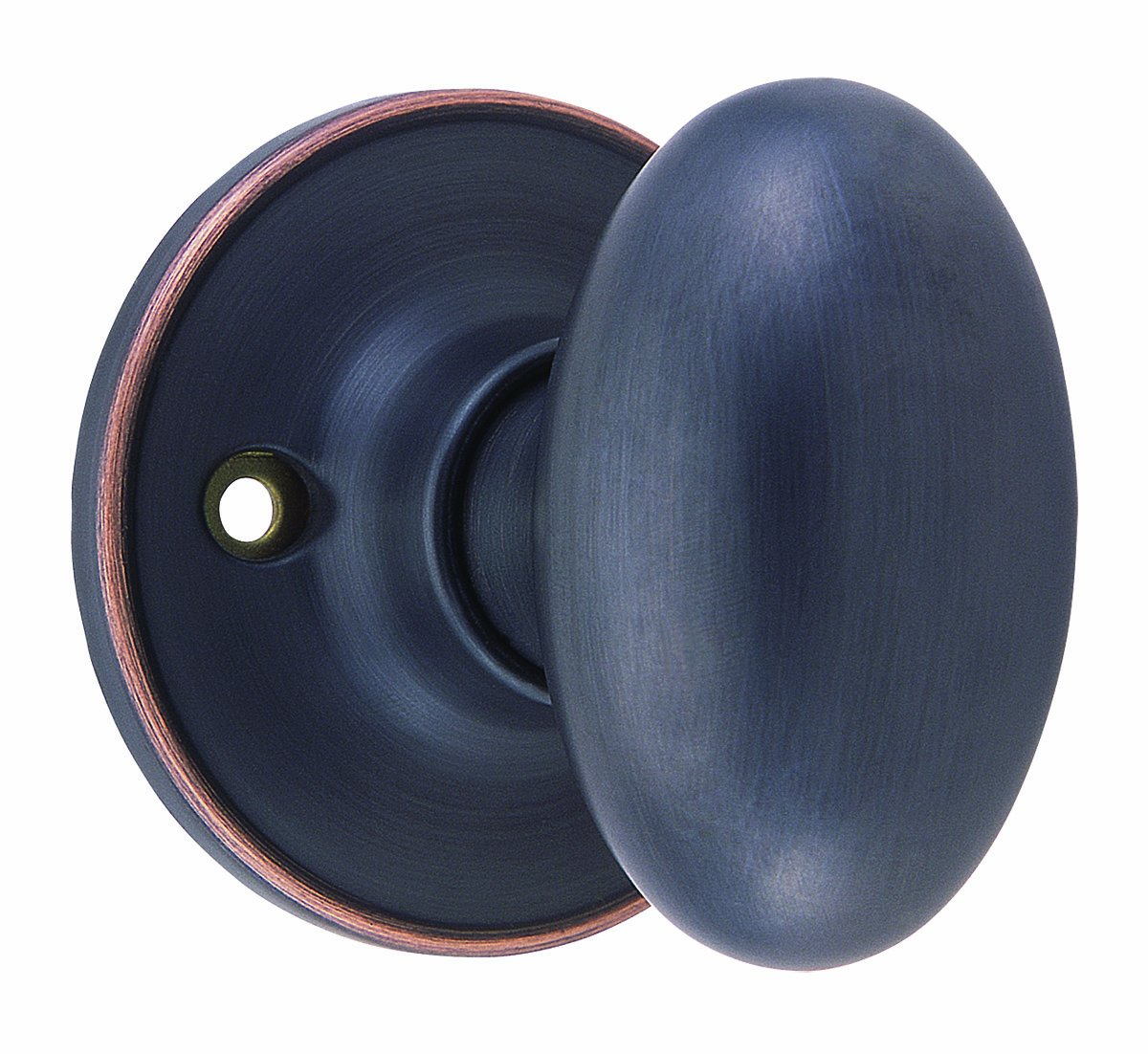 Design House 750653 Egg Dummy Door Knob, 2-Way Latch, Oil Rubbed ...