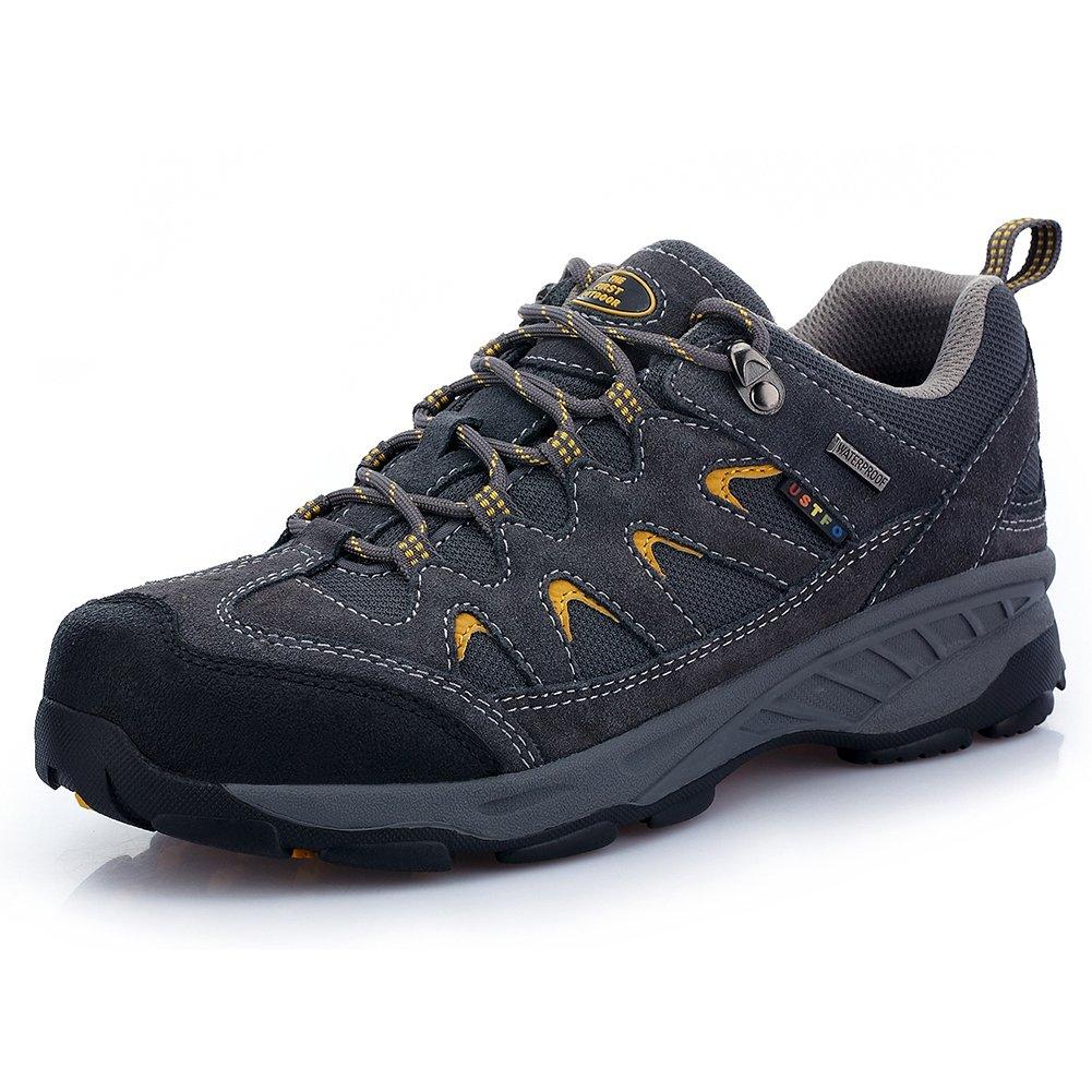 TFO Al Aire Libre Womens – Zapatos de Senderismo Transpirable y Resistente Low Rise Senderismo y Zapatos de Senderismo 42.5 EU|Gris Profunda