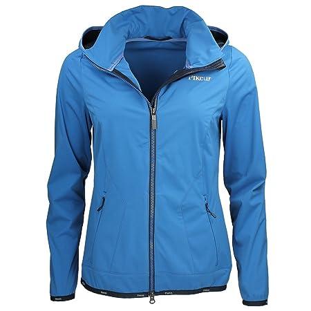 1e4f7e787 Pikeur Wakita Womens Softshell Jacket - Navy Bliue: Amazon.co.uk ...