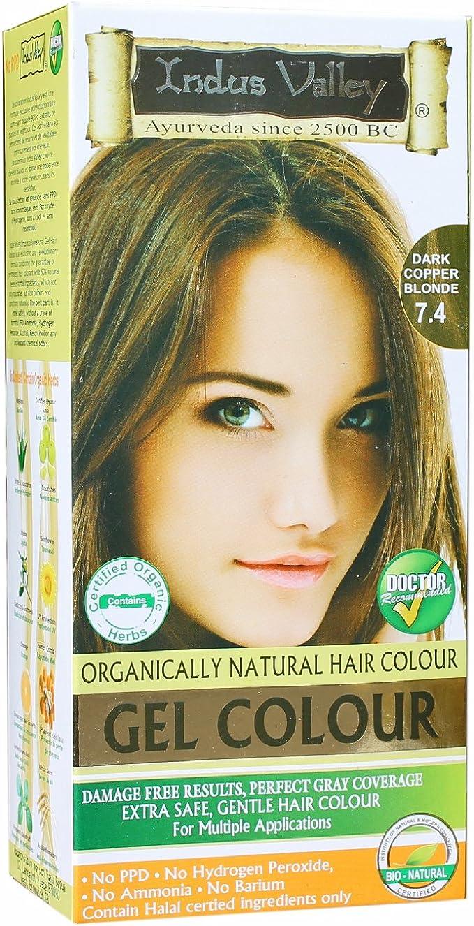 INDUS Valley – Tinte Natural para el cabello de gel sin ...