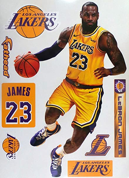 6d738968d98f Image Unavailable. Image not available for. Color  Lebron James FATHEAD ...