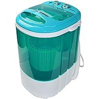 Syntrox Germany A + 3,8kg Machine à laver avec essoreuse Camping Machine à laver Mini machine à laver