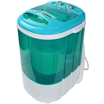 Syntrox Germany - Minilavadora con centrifugadora para acampada (eficiencia energética A+, para 3,8 kg): Amazon.es: Hogar