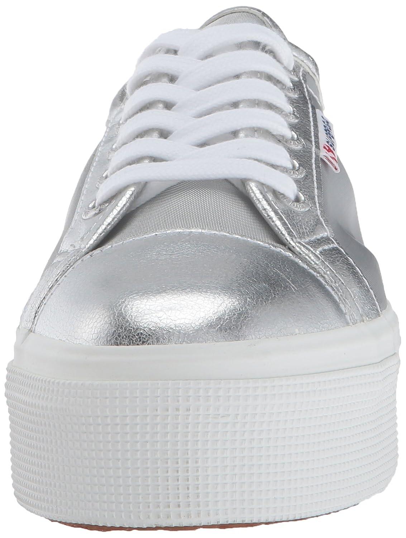 Superga Women's 2790 Mesh Metallic Fashion Sneaker B005OBFN7K 37 EU (6.5 M US Women's)|Silver