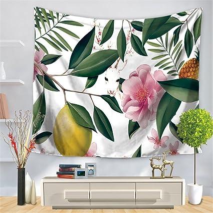 JCDZH-FT Regalo de navidad Animal Print Rectangular flores frescas a la decoración del hogar