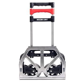 Amazon.com: Magna Cart Personal 150 Lb Capacity Aluminum Folding ...