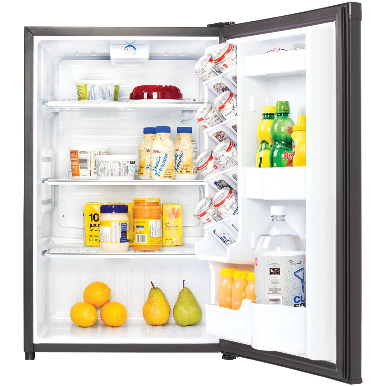 amazoncom danby dar044a4bdd compact all 44 cubic feet black appliances