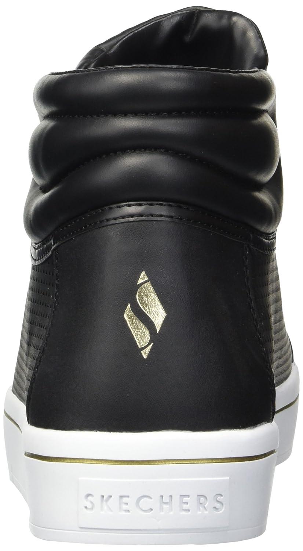 Skechers Women's Hi-Lite-Triangle Perf Sneaker B074CMJRRS 9 B(M) US|Black