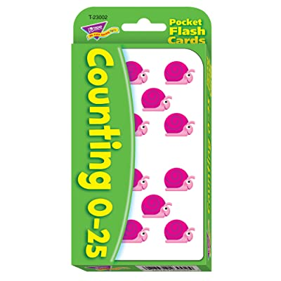 Counting 0-25 Pocket Flashcards: Toys & Games