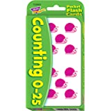 Counting 0-25 Pocket Flashcards