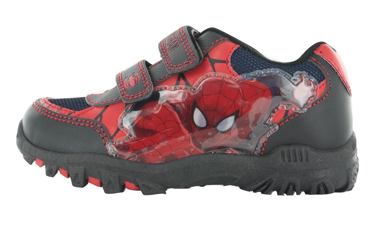 Trimfoot Toddler/'s Marvel Ultimate Spiderman Rain Boot Red//Blue//Black