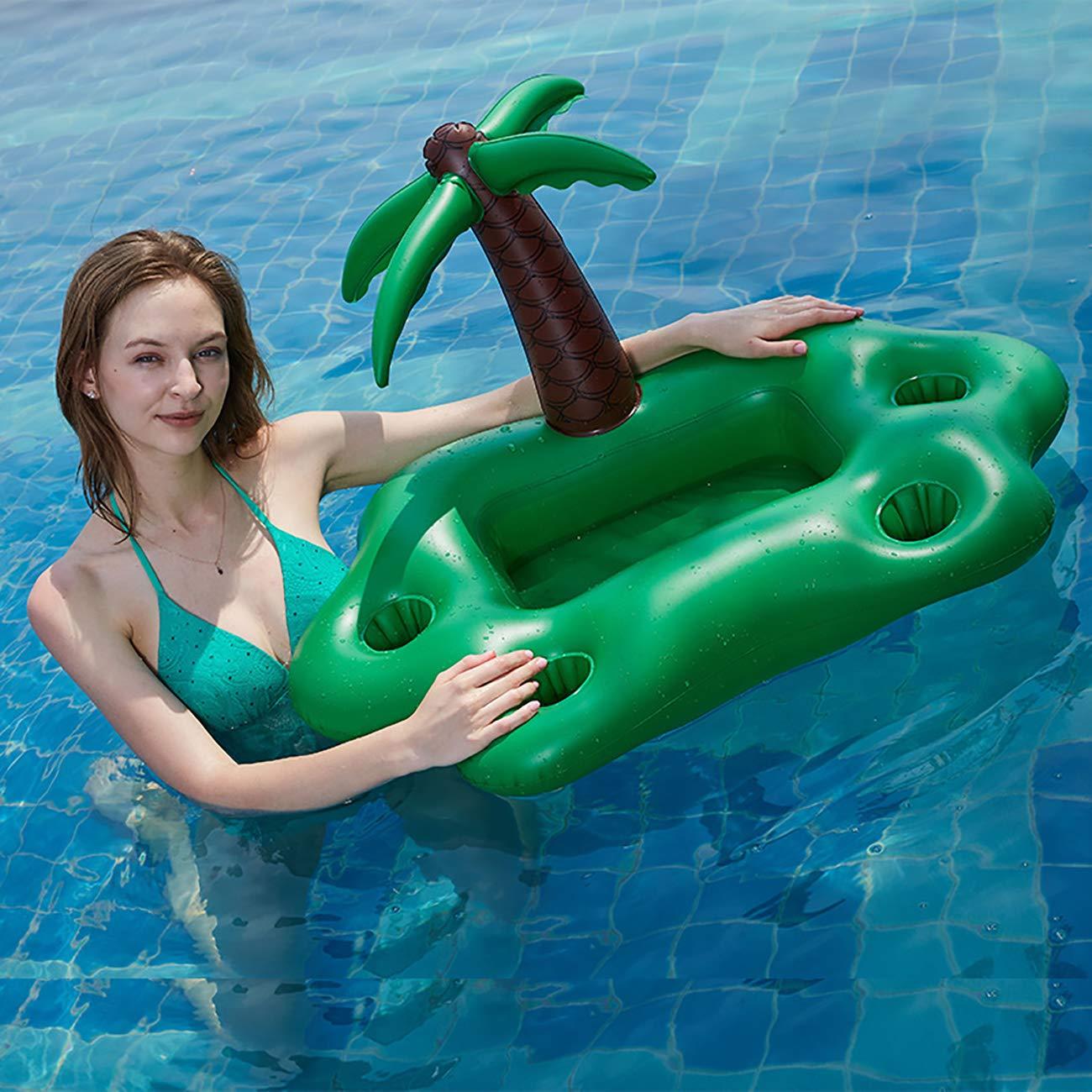 Aufblasbarer Getränkehalter Stilvoll zum Schwimmen Pool Beach Party Kinder