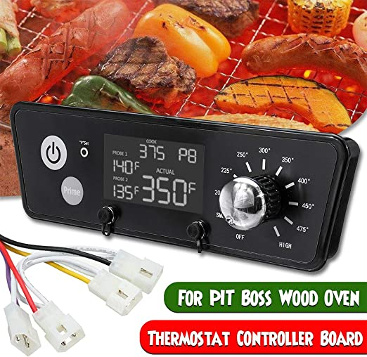 DIGITAL THERMOSTAT PRO CONTROL BOARD W// PROBES FOR TRAEGER PELLET GRILLS BAC365