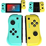 JAMSWALL Joy Con Controller Compatible for Nintendo Switch, Wireless Controllers Compatible for Switch Lite, Replacement Comp