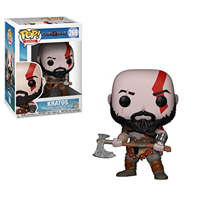 Funko Pop! Games: God of War - Kratos with Axe Collectible Figure: Funko Pop! Games:: Toys & Games