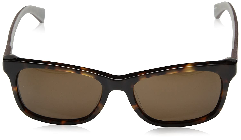 55 mm Cole Haan Mens Ch6018 Plastic Square Sunglasses