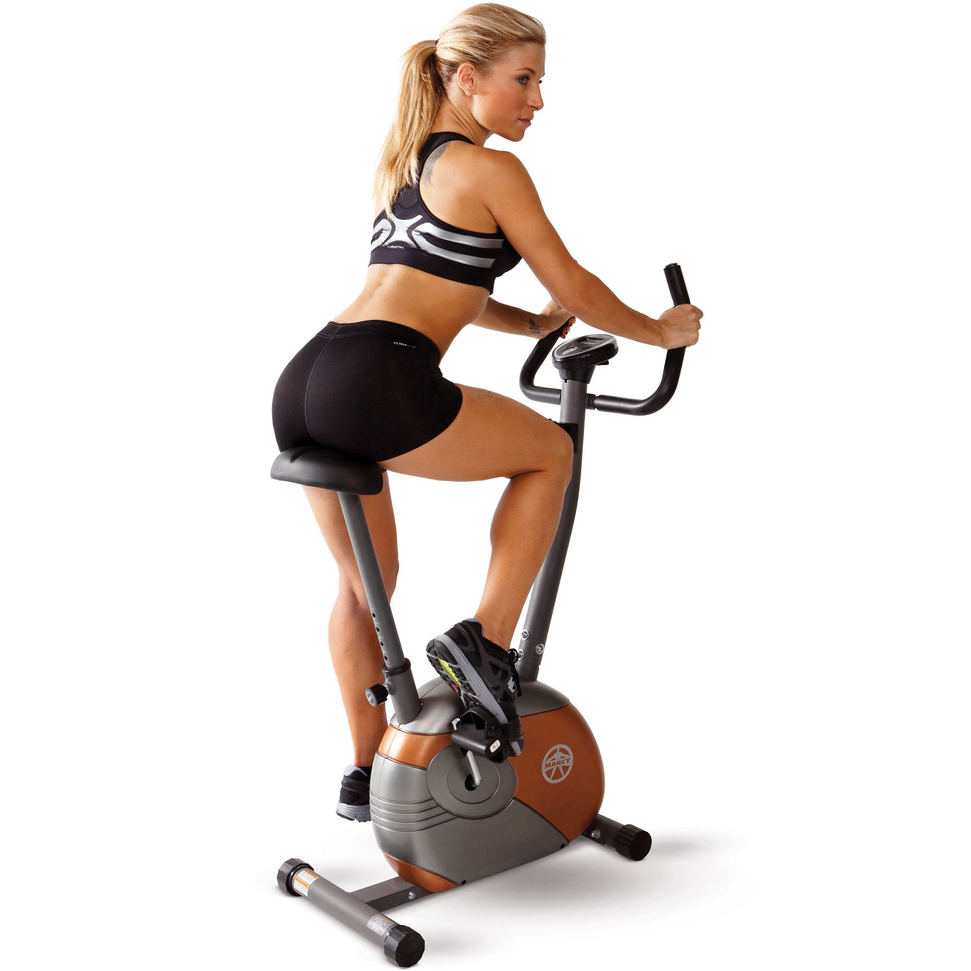 Marcy Upright Exercise Bike with Resistance ME-708 by Marcy (Image #2)