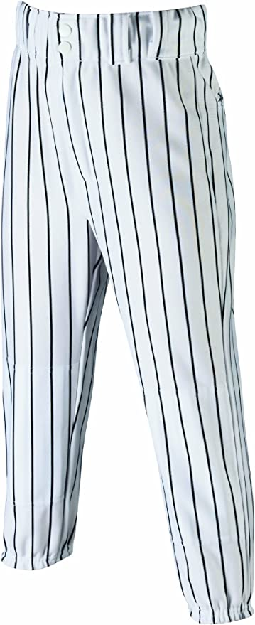 Wilson Adult Poly Warp Knit Woven Pinstripe Baseball Pant