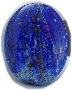 The Best Jewellery Lapis Lazuli cabochon, 67Ct Lapis Lazuli Gemstone, Oval Shape Cabochon For Jewelry Making (32x26x9mm) SKU-15111