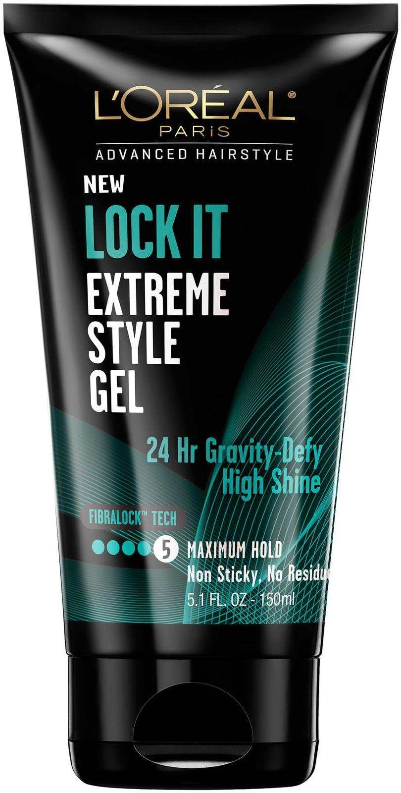 L'Oréal Paris Advanced Hairstyle LOCK IT Extreme Style Gel, 5.1 fl. oz. (Packaging May Vary)