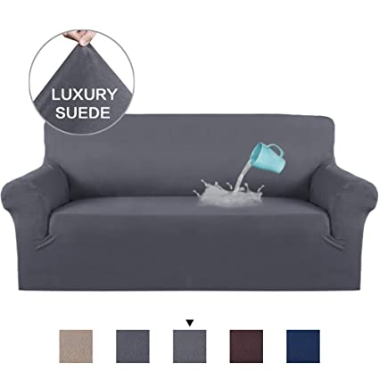 Magnificent H Versailtex Water Repellent Velvet Plush Strapless Sofa Cover Furniture Protector Suede Couch Covers Fitted Sofa Protector High Stretch Plush Sofa Pabps2019 Chair Design Images Pabps2019Com