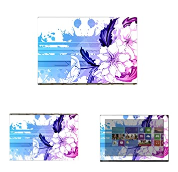 Protective Decal Skin Skins Sticker for Lenovo Yoga Book Tablet (10.1
