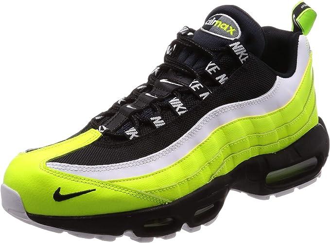NIKE Air Max 95 Prm Sneaker Uomo 538416 701 VoltBlack Volt
