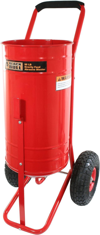 Black Bull SFSB90 90 Pound Gravity Feed Abrasive Blaster
