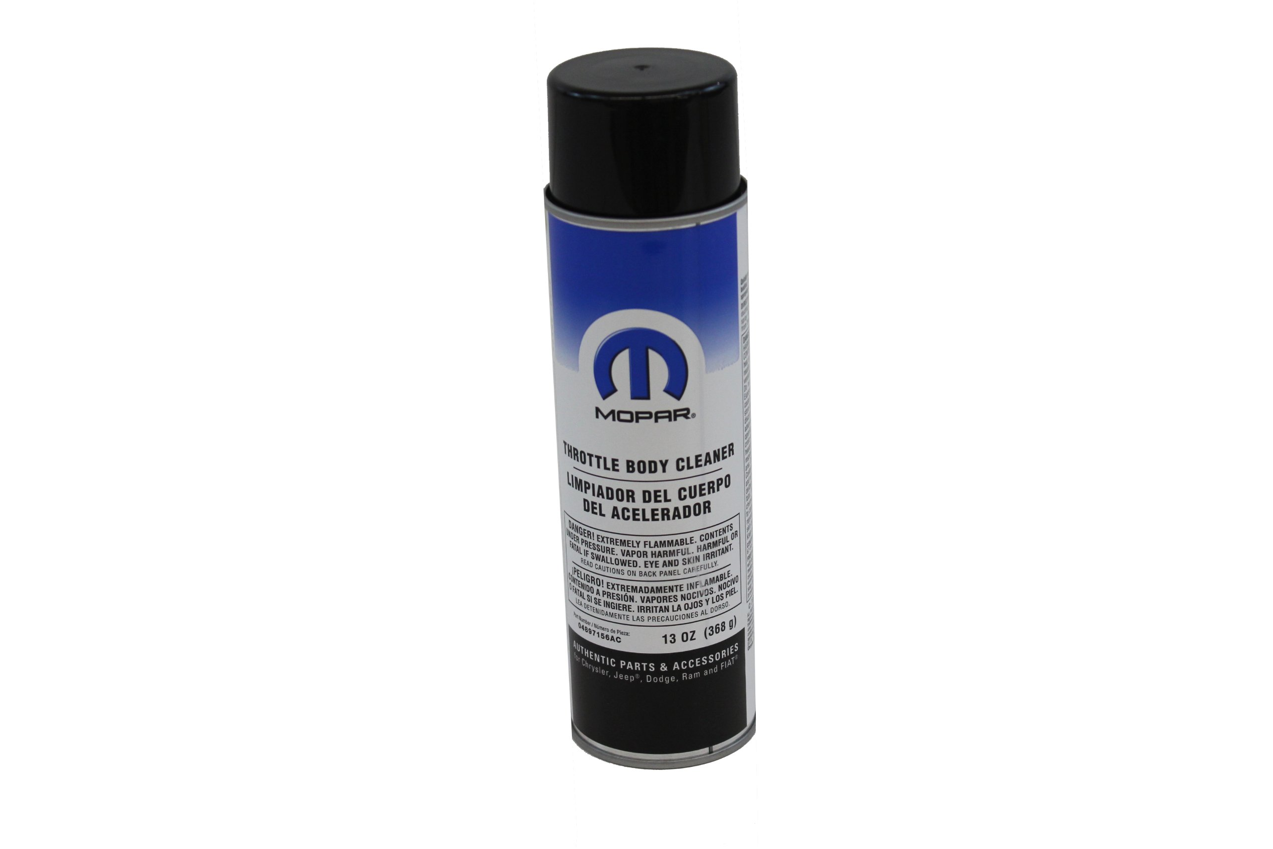 Genuine Chrysler Accessories 4897156AC Throttle Body Cleaner - 13 oz. Aerosol Can product image