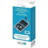 Nintendo Wii U Gamepad Battery Pack 2550mAh batería Recargable - Batería/Pila Recargable (2550 mAh, Gris, 1 Pieza(s), Alto)