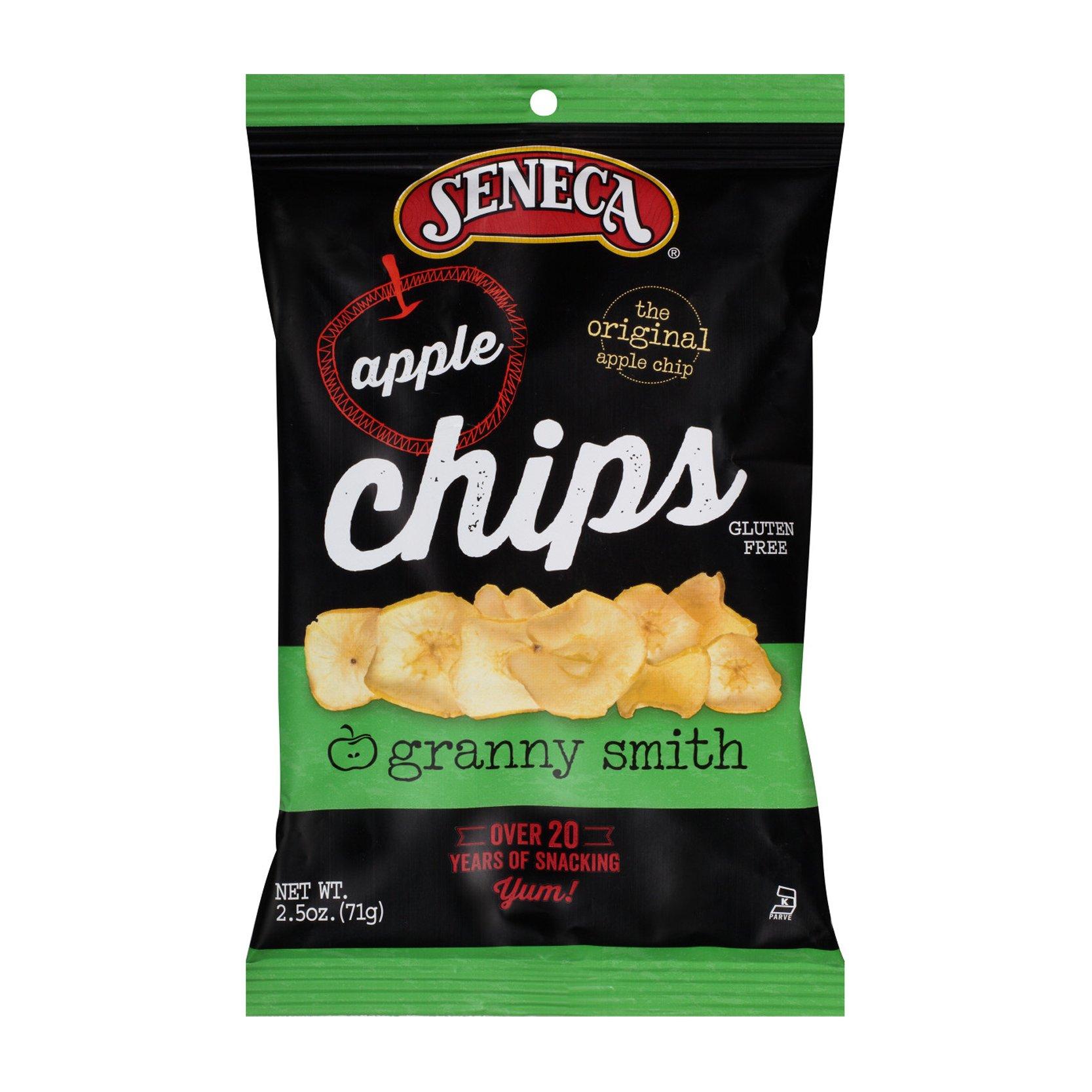 Seneca Crispy Apple Chips, Granny Smith, 2.5 Ounce (Pack of 12)