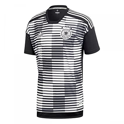 c38ca15b239a adidas 2018-2019 Germany Pre-Match Football Soccer T-Shirt Jersey (White