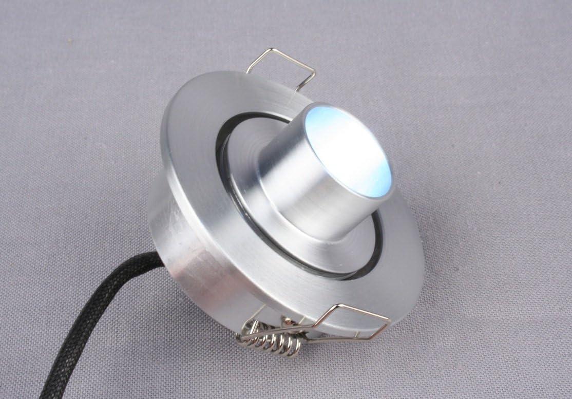 Mini Spotlight Down light LED Fixture 1 Watt White LED Down lig 12 to 24 VDC