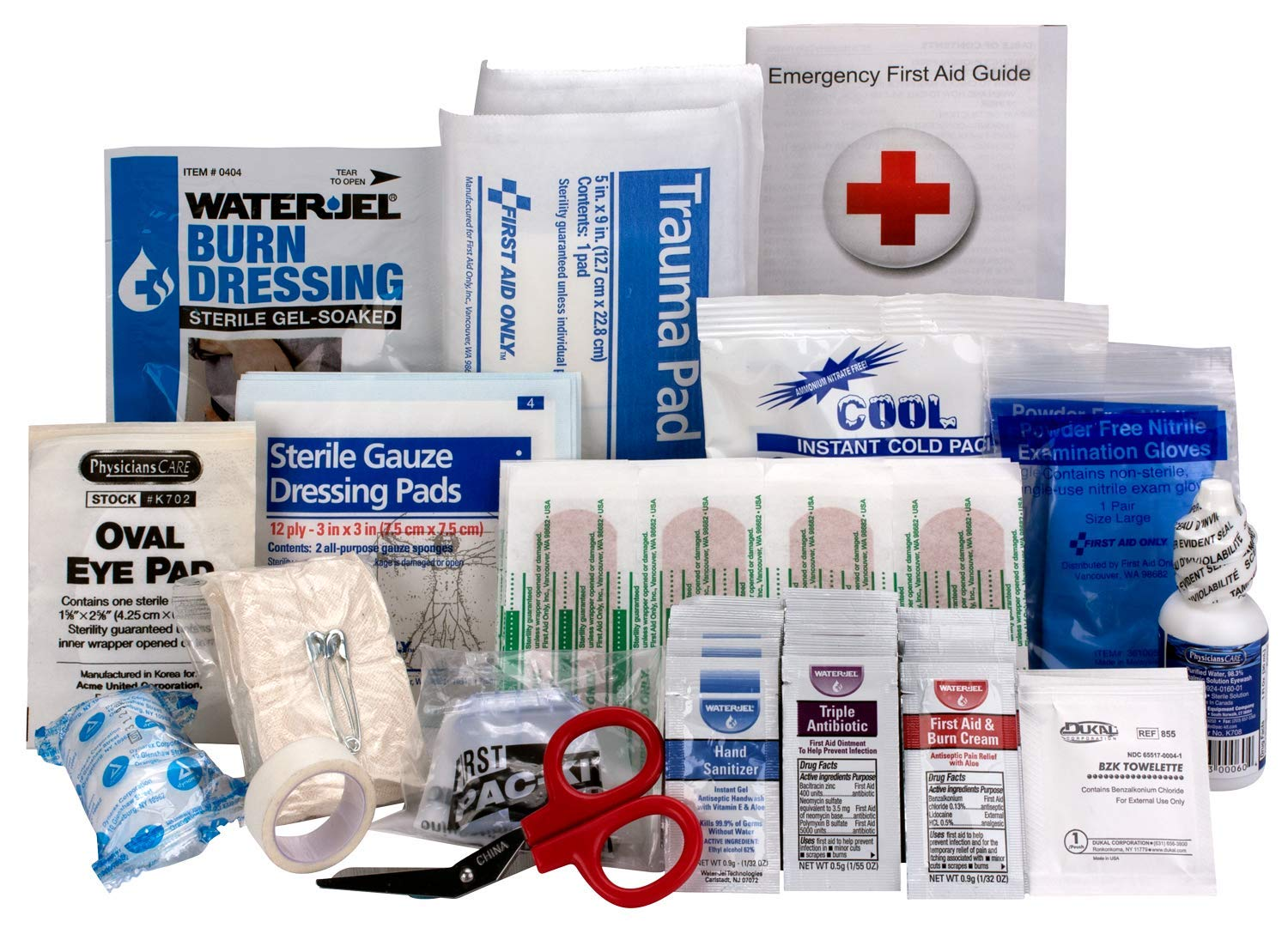 Xpress First Aid 89 Piece Refill Pack, ANSI/OSHA Compliant by Xpress First Aid