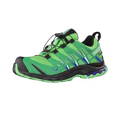 Salomon XA Pro 3D GTX W, Zapatillas de Running para Mujer, Verde (Hellgrün/Grün), 38 EU: Amazon.es: Zapatos y complementos