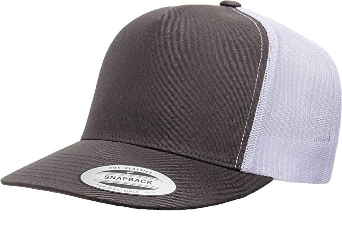 371e89d7571d8 Image Unavailable. Image not available for. Color  Yupoong Five-Panel Classic  Trucker Cap ...