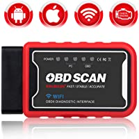 KINGBOLEN WiFi OBD2 Car Code Reader Scanner Diagnostic Tool for iOS Android & Windows Device